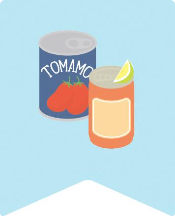 アルミ缶とスチール缶