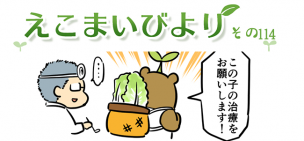 えこまいくまーの4コマ漫画 vol.114